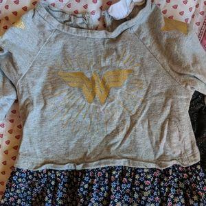 GAP Wonder Woman Dress and pants